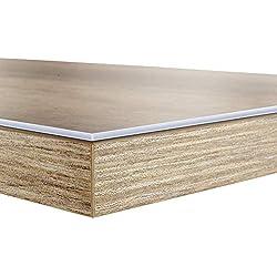 Sous-main bureau casa pura® transparent PVC | protection meuble, table, nappe épaisse | 2 tailles | Neo - 50x100cm