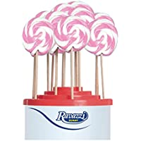 Lecca Lecca Rainbow Rosa Bianco. Confezione da 50pz x 25gr Ravazzi Gummy. Ideale per Feste di Compleanno e Caramellate.
