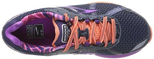 Multicolore da Brooks Scarpe GTS Donna Salmon 15 Purple Adrenaline Peacot Flower Corsa wq70qI