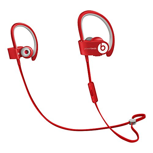 Beats PowerBeats 2 - Auriculares in-ear inalámbricos, color rojo