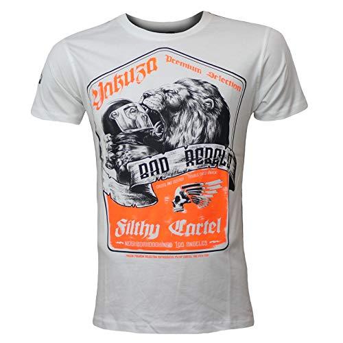 Yakuza Premium Herren T-Shirt 2600 Natur weiß Größe XL