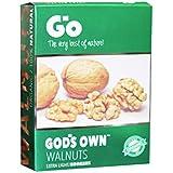 Go God's Own Organic Walnut kernel (Broken Extra Light 250 gm)