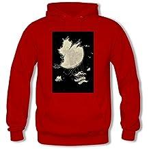 weileDIY Hot Air Balloon DIY Custom Mens Printed Hoodie Sweatshirt