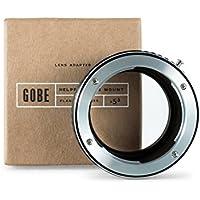 Gobe - Adaptador de lentes Contax/Yashica (C/Y) para cuerpo de cámara Micro Cuatro Tercios (M4/3)