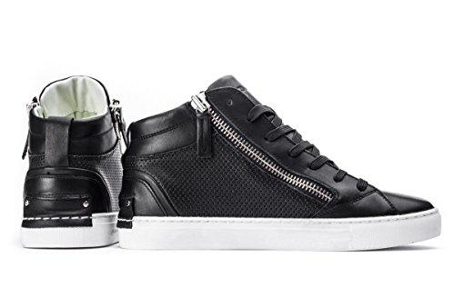 Crime London 11261ks1, Sneaker À Col Roulé Pour Homme Noir (schwarz)