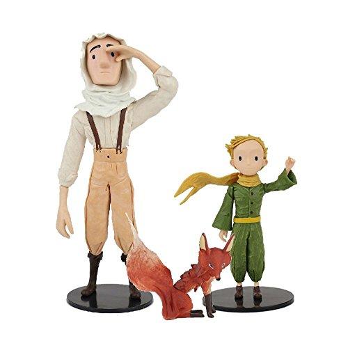 Hape der Kleine Prinz Exklusiv Figur inkl. Explorator und Fuchs für Geburtstagsgeschenk Geschenk zu Weihnachten