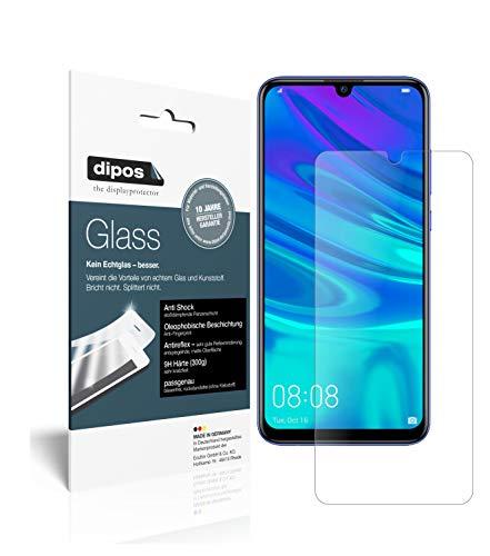 dipos I 2X Panzerfolie matt passend für Huawei P Smart Plus (2019) Schutzfolie 9H Bildschirmschutz-Folie (bewusst Kleiner als das Glas, da Dieses gewölbt ist)