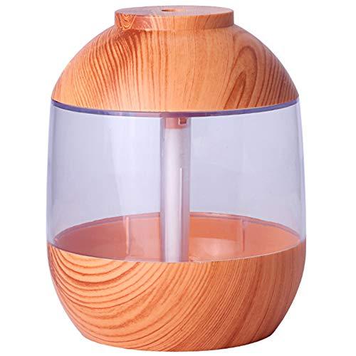 Basage 700Ml Humidificador de Grano de Madera USB MáQuina de Aromaterapia de Tanque de Agua Grande...