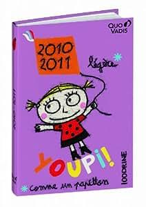 QUO VADIS - 1 Agenda Scolaire 100DRINE, Sept 2011 à Sept 2012, 12x17cm, 3 visuels possibles