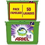 Ariel 3 en 1 Pods Color y Estilo Cápsulas de Detergente - 50 Lavados