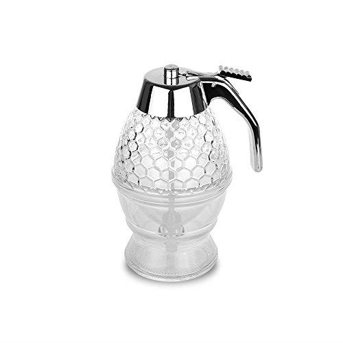 Honig Acryl-Spender Sirup Honig Saft Bee Drip Flasche Container Cup Backen Werkzeug kein Drip Mäßiger Blutung 200ml