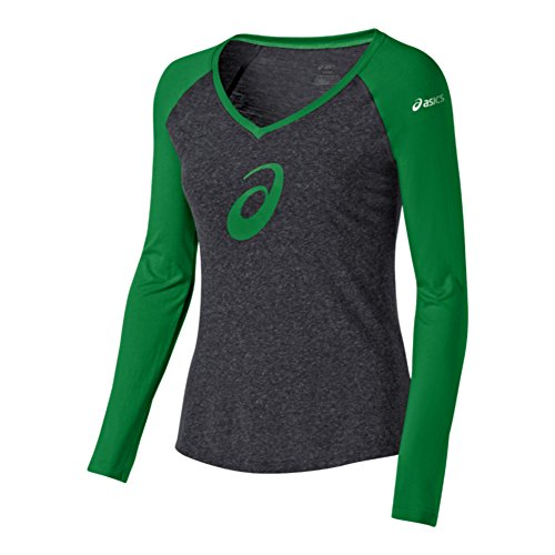 ASICS Damen W 's TM Profil Raglan, Damen, Kelly, Medium -