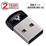 Avantree Plug & Play Bluetooth 4.0 USB Dongle Adapter für Native Windows 10 PC & Computer (Nicht für Upgraded Systeme), Wireless Laptop Stick für Musik Tastatur, Maus - DG40SA