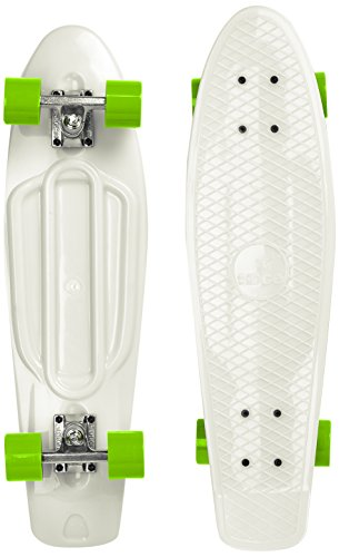 Ridge Skateboard Big Brother Nickel 69 cm Mini Cruiser, Glow/grün - Nickel 5 Cast