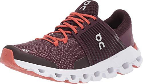 Zapatillas On Running CloudSwift Plum Dawn Mujer 38 5 Granate