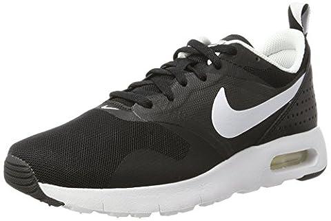 Nike Air Max Tavas (GS), Chaussures de Course Garçon, Noir (Black/White), 35 1/2 EU