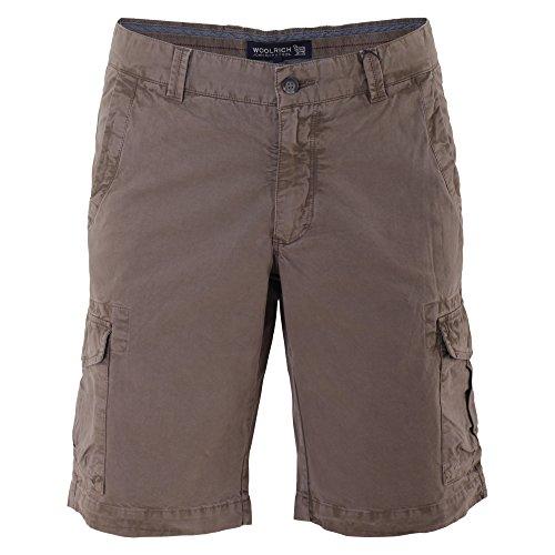 woolrich-hombre-wosho0379ct408931-marron-algodon-shorts