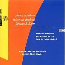 Schubert,Brahms,Bach