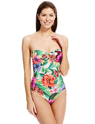 ex-ms-secret-slimming-tummy-control-floral-bandeau-swimsuit-slim-waist-panels-marks-spencer-swimming