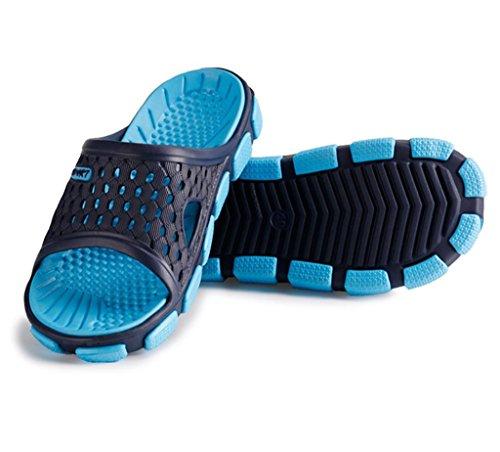 Chaussons de douche Pantoufles anti-dérapantes Salle de bain Maison Chaussures dété Hommes Pantoufles dintérieur Sand Beach Light EVA Sandales C
