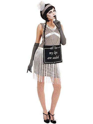Silent Film Flapper Women's Costume Halloween 20's Fancy Dress