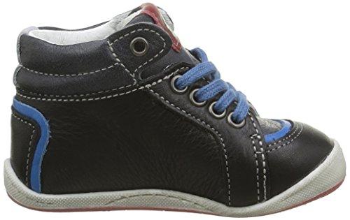 Babybotte Fleuve, Chaussures Marche Bébé Garçon Noir (016 Noir)