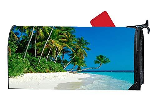 Custom Mailbox Covers Postfach Abdeckung Magnetische Palme für Metall/Stahl Postfächer Mail Wrap Standard Vinyl 16,5x 48,3cm 6.5