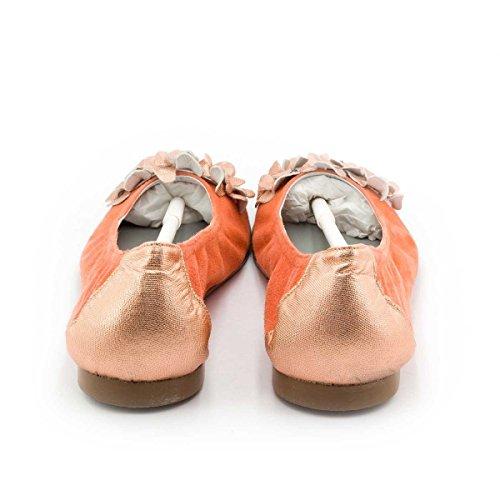Boni Classic Shoes, Mädchen Ballerinas Orangeem