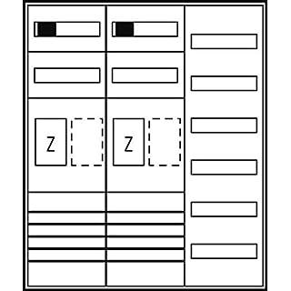 ABN Braun Complete Cabinet ZFH/EHZ ES36RE65TN Rheinen. NW 2Z1V6Counter Complete Cabinet 4015153508743