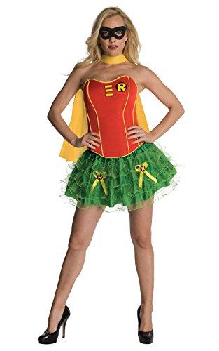 üm Korsett Kostüm für Damen Faschingskostüm Batman Gr. XS-L, Größe:XS (Batman Korsett)