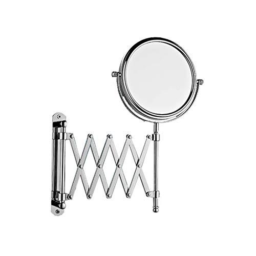 JXXDDQ Espejo de vanidad de extensión Grande montado en la Pared Aumento de 1x 3X - Dormitorio de baño...