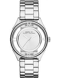 Marc Jacobs MBM3412 - Reloj con correa de metal, para mujer, color plateado