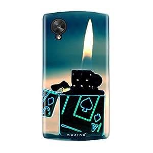 Mozine Ace Light Up printed mobile back cover for Google nexus 5