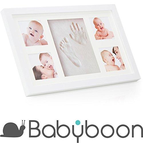Baby Bilderrahmen für Handabdruck & Fußabdruck ® Babyboon