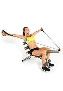 Wonder Core 2Unisexe avec chaise pivotante et aviron (comme vu sur High Street TV)