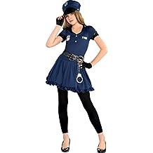 Disfraz de policía adorable para niñas y adolescentes en varias tallas