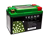 TECNO-ION Motorrad-Batterie TI-T14 Quadpol, 12V Lithium-Ionen-Batterie 48Wh, 134x65x92 mm inkl. Pfand
