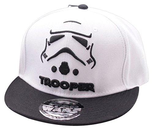 Star Wars Trooper White/Black Snapback ()