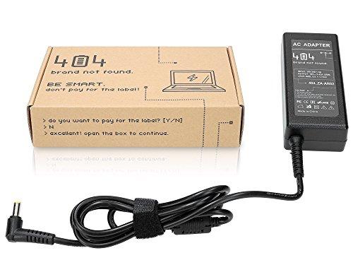 Wessper Laptop Netzteil für Gateway NV78 (19V, 3.42A, 65W, 1.7x5.5mm) ohne Netzkabel