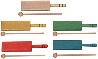 CAJA CHINA - Goldon (33314) Mini Caja China (Con Mango) Madera (Color Rojo) (Una Unidad)