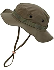 Impermeable Boonie Hat Outdoor sombrero, color verde oliva, tamaño xx-large