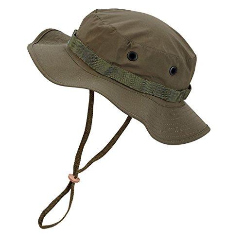 Black Snake Wasserdichter Boonie Hat Outdoor Hut L ()