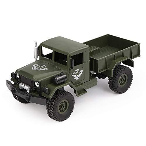 Dkings 2.4G 4WD Fernbedienung Tracked Off-Road Militär LKW Auto Spielzeug Geschenk Dongfeng 3-Q62 (Militär-auto-magneten)