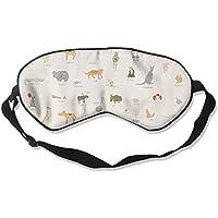 Eye Mask Eyeshade Animal Picture Sleep Mask Blindfold Eyepatch Adjustable Head Strap preisvergleich bei billige-tabletten.eu
