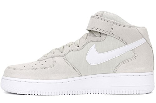 Nike Air force 1 mid '07 - Basketaballschuhe, Herren, Farbe light bone-white-white (315123-034)