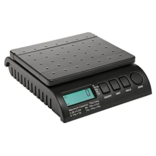 ABCON 101375 5/ 10g Postship Multi-Purpose Scale Increments with 34Kg Capacity - Black