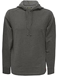 Polo Ralph Lauren Homme Marled Loungewear Logo Hoodie, Gris