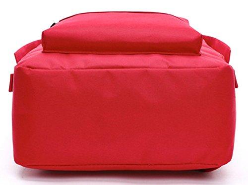 Keshi Leinwand neuer Stil Damen accessories hohe Qualität Einfache Tasche Schultertasche Freizeitrucksack Tasche Rucksäcke Lila