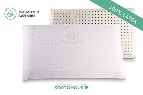 Dreaming Kamahaus Almohada núcleo Látex 70cm | Núcleo 100% LÁTEX | Microperforado | Descanso Natural...