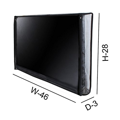 Lithara PVC LED TV /TV Display Protector For Vu 127 cm (50 inches) Premium Full HD Smart Television (H50K311)  available at amazon for Rs.799